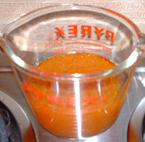 Secret Sauce leftover after roasting tomatoes