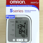 Omron 5 Series Blood Pressure Monitor in Package