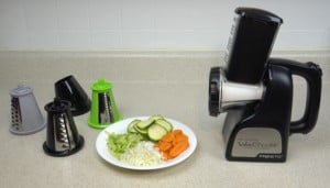 Professional Salad Shooter with Accessories