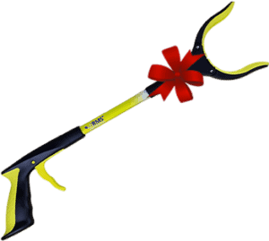Yellow RMS Reacher Grabber with Red Bow