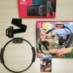 Nintendo Switch Ring Fit Adventure With Game Case