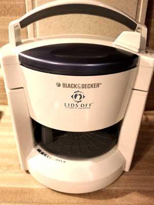 Black and Decker JW200 Lids Off Electric Jar Opener